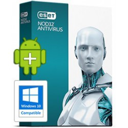 ESET NOD32 Antivirus 1User 1Years