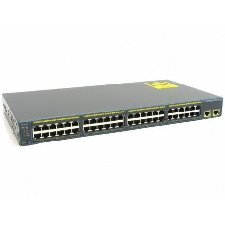 Cisco Switch WS-C2960-48TT-L - سوئیچ 2960 سیسکو