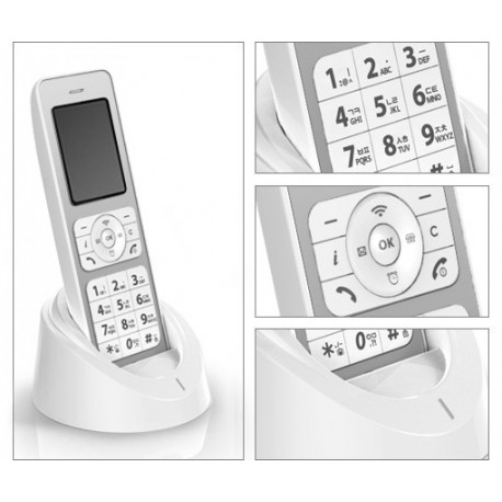 KWP200 Wireless IP Phone کلیپکام